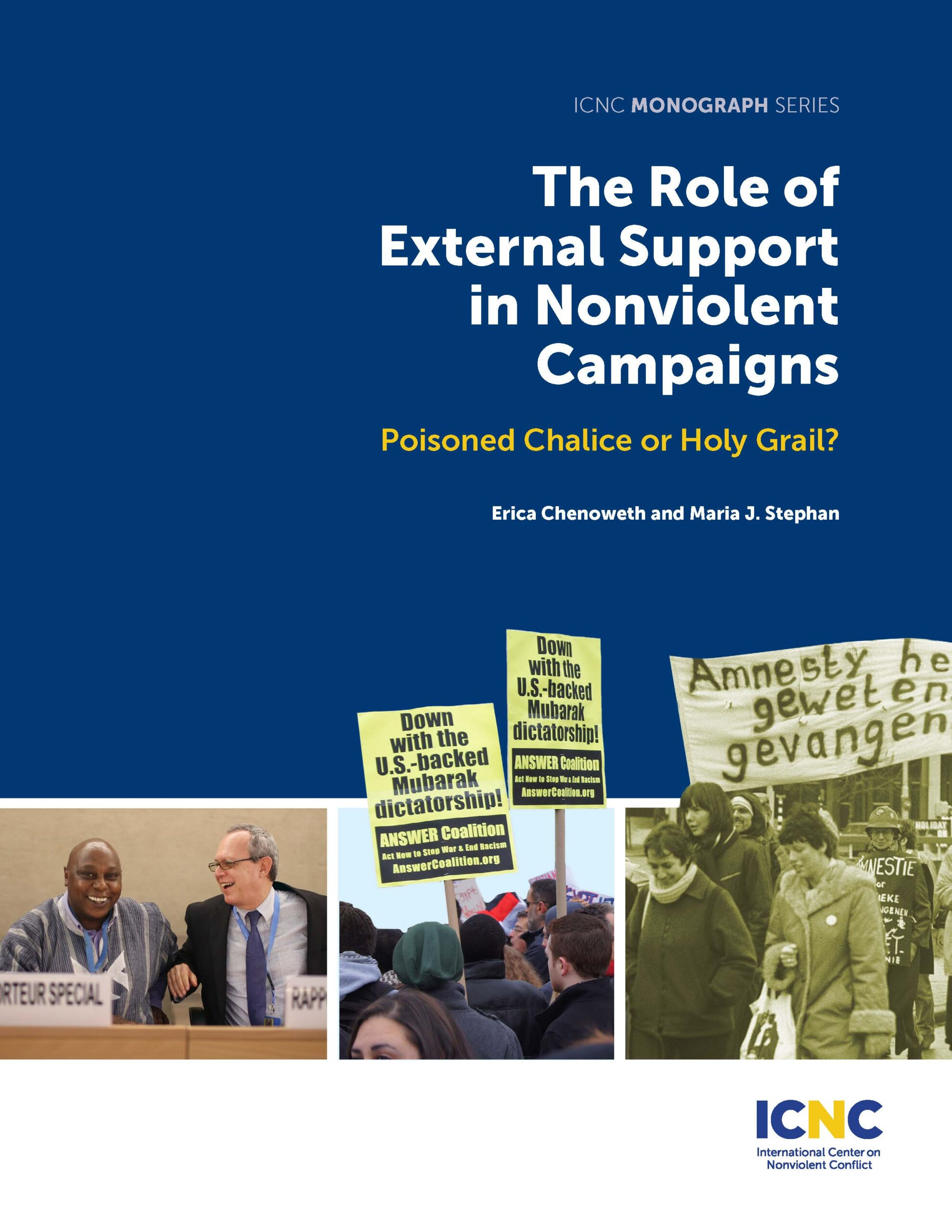The Role of External Support in Nonviolent Campaigns: Poisoned Chalice or Holy Grail?