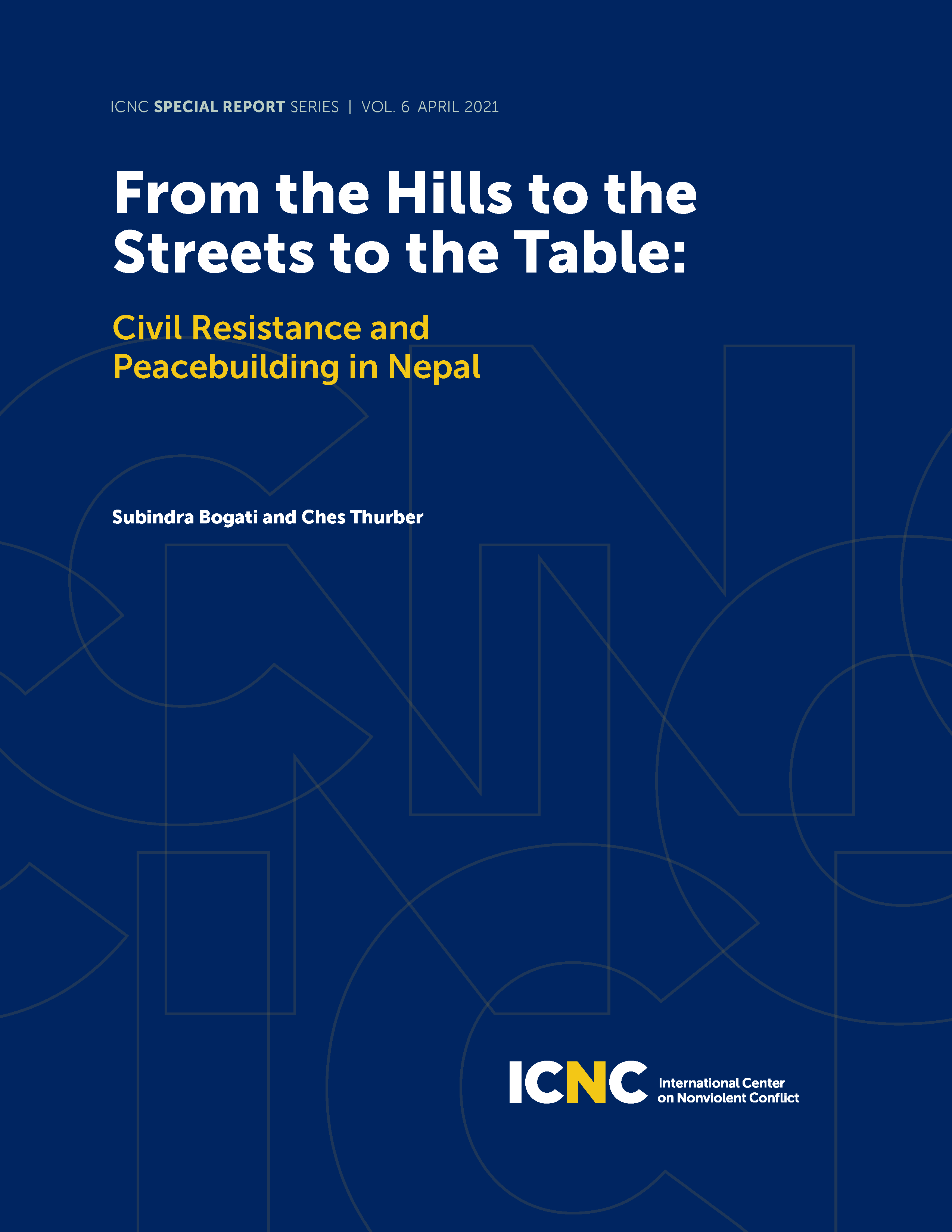 From the Hills to the Streets to the Table: Civil Resistance and Peacebuilding in Nepal